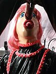The Latex Doll is prostituted by her Mistress for perverts enjoyment.