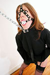 Straightjacket at his best with an exciting gallery of the beautiful Anna Vorski, chained and gagged as well