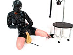 Into the predicament of Heavy Rubber. The Straightjacket doesn't help...